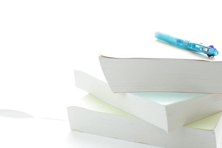 本の厚みで用紙を選ぶ