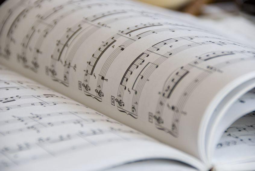 楽譜の冊子印刷