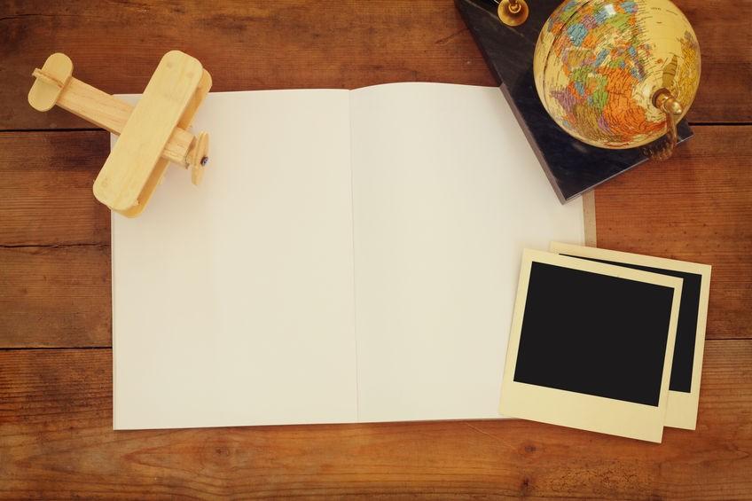 旅行記を作ろう! ~費用の目安やおすすめの体裁