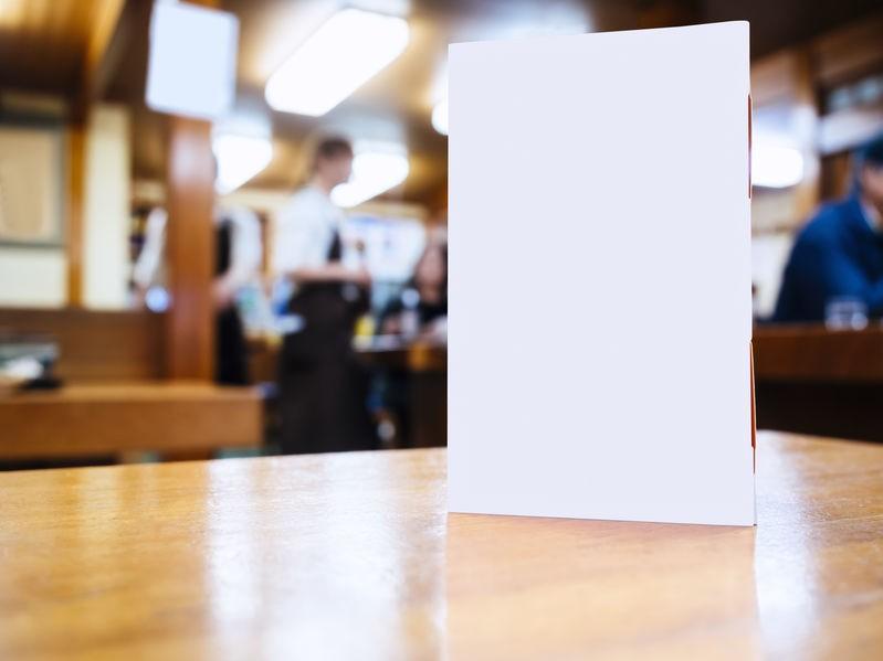 メニュー表をネット印刷で作るといくらかかる?