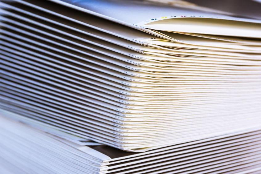 中綴じ冊子の最低ページ数は?少ページの印刷価格を見積もってみました