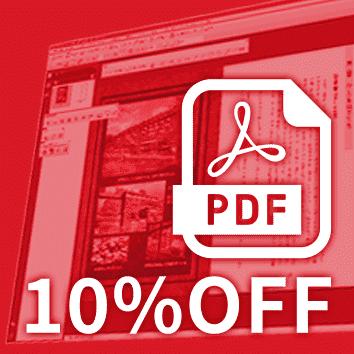 【PDF入稿】ならいつでも10%OFFに!
