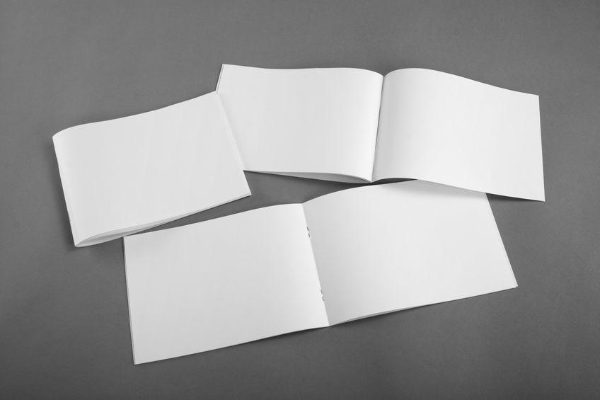 変形サイズ 横型、横長の冊子 印刷価格