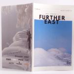 オンデマンド印刷と無線綴じ製本で作成した小冊子(ZINE)の作成事例で、表紙と裏表紙のデザインがわかる画像です。