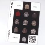 無線綴じ小冊子の裏表紙(表4)のデザインがわかる画像