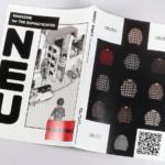 無線綴じ小冊子の表紙(表1から表4)デザインがわかる画像